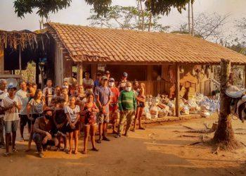 Ação social Sicoob – Pantanal — Foto: Arquivo Sicoob